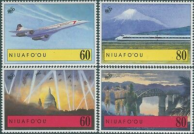 Niuafo'ou 1995 SG226-229 Victory in the Pacific MNH