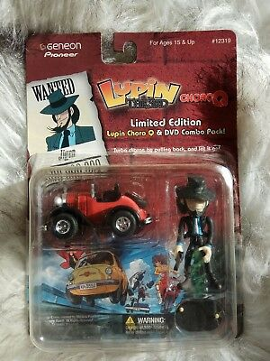 Geneon Pioneer Limited Edition Lupin The 3rd Character - Jigen -  NEW