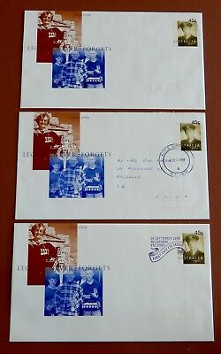 75th Anniversary Legacy- Pre Paid Envelope full set MINT, / 1st day Issue / Used