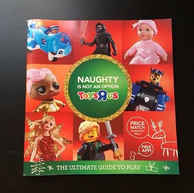 toys r us holiday 2017 christmas toy catalog toysrus 118 pages book collectible