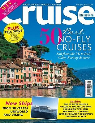 Cruise International Magazine June/July 2017 (BRAND NEW BACK ISSUE)