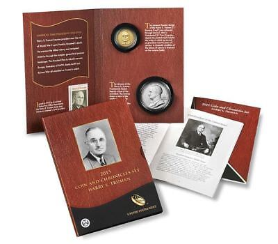 2015 Harry S. Truman Coin and Chronicles Set.