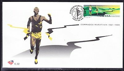 South Africa 1996 Comrades Marathon First Day Cover #6.32