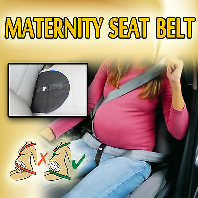 Maternity Pregnancy Seat Belt Driving Safety Baby Support Belly Band