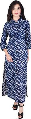 Indian Bollywood Kurta Kurti Designer Women Rayon Kurti Ethnic Wear Dress