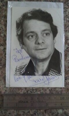 "David Jason Autograph Hand Signed Early Photo ""Del Boy / Open All Hours / Frost"""