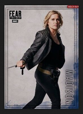 Madison-Blue-Action Wave 2 Fear Meld-Topps Walking Dead Card Trader