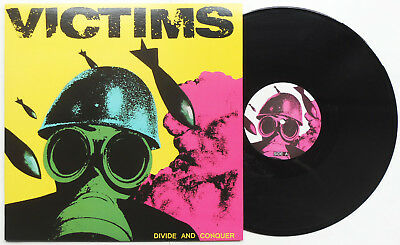 Victims - Divide And Conquer LP Wolfbrigade Martyrdod Skitsystem Driller Killer