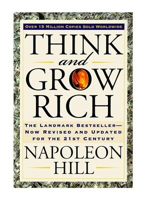 Think and Grow Rich Wealth eBook PDF CD with Master Resell Rights Free Shipping