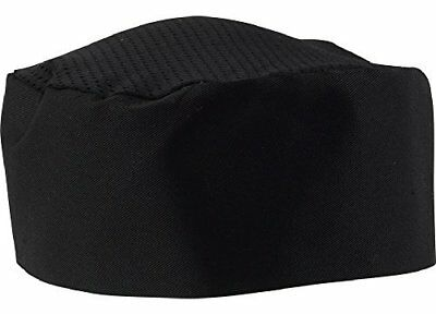 Black Chef Hat. Adjustable. One Size Fit Most. 24