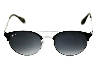 714039d9f92 RayBan RB3545 9004 11 Black Silver Frame Grey Gradient Lenses Unisex  Sunglasses