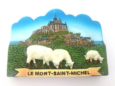 The Mont Saint Michel Abbey FRIDGE MAGNET souvenir normandy france travel gift