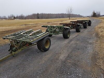 SUPACAT military 5 FLPT TRAILER convoy set  (built in England)