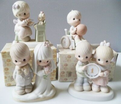 Precious Moments - Lot of 4 - with boxes