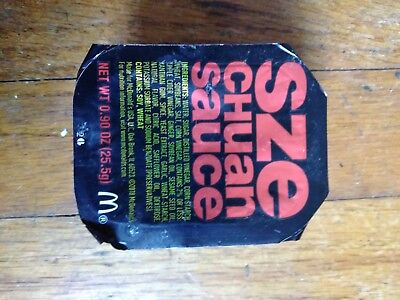 Rick & Morty McDonald's Szechuan Sauce Packet March 2018 ~ New Unopened