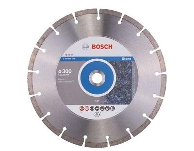 Bosch 2608602698 Diamond Cutting Disc Professional for STONE  300mm x 22mm Bore