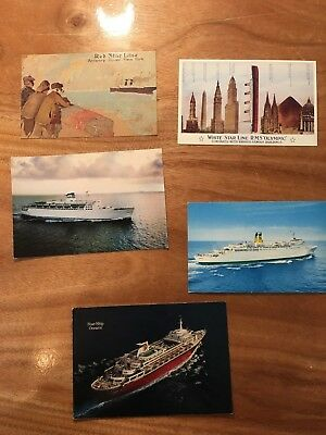 Random Vintage Post Cards Unposted