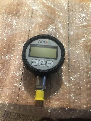 APG PG7-10000-PSIS Digital Pressure Gauge with 0.25% Accuracy sealed gauge