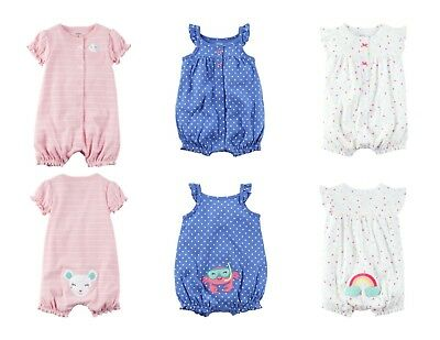 435740e64 NWT - CARTER S Baby Girl Snap-Up Cotton Romper