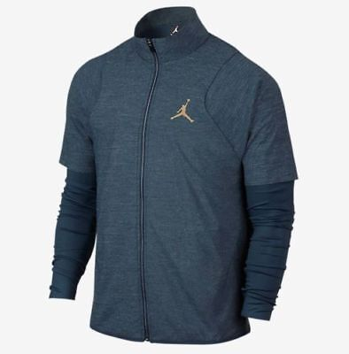 Nike Mens Size Large  Air Jordan 11 Dri-Fit Basketball Jacket AH1549 687 NWT $75