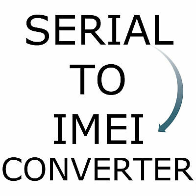 Convert Apple iPhone iPad Device Serial Number To IMEI Converter