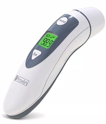 Medical Ear Thermometer Dual Mode With Forehead Function iProven Infrared Lens