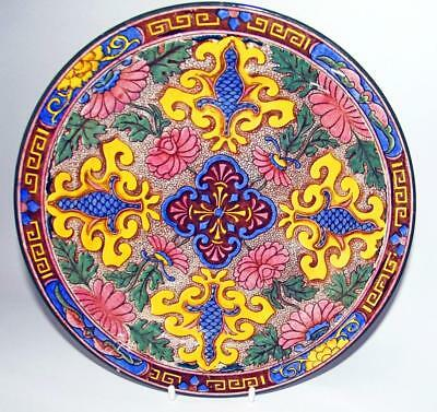 Royal Doulton 2 Antique Display Plates 26cm Dia Pattern No D3087 Persian Series