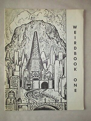 Weirdbook Five #1 1973 2nd Print Fanzine Fantasy Sci-Fi Robert E. Howard Story