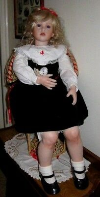 Beautiful Porcelain Artists Doll, Shay, Extremely Life-Like. Post free Aust only