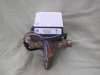 Danfoss 3 Port Valve 4 Wire 22 Mm With New Actuator P/n:- Hsa3