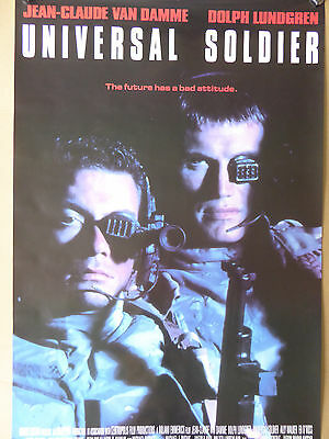 UNIVERSAL SOLDIER poster - RARE ONE!!