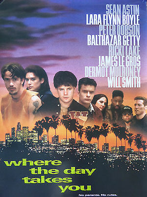 Where The Day Takes You movie poster