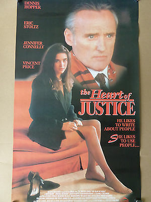 JENNIFER CONNELLY THE HEART of JUSTICE movie poster - RARE!