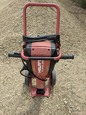 HILTI TE 3000 AVR Electric demolition Jack Hammer w/ cart. CAN SHIP