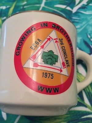 1975 Ec-6A 3Rd Conclave Boy Scouts Of America Coffee Mug Growing In Brotherhood