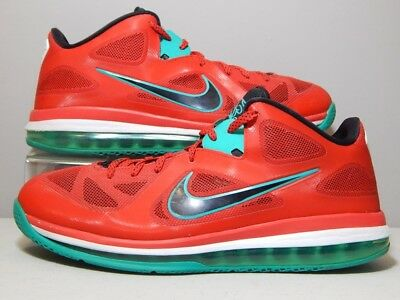the best attitude b5b66 72069 Nike Shoes - 2012 Lebron 9 IX Low Liverpool - Red Black White Green - Size