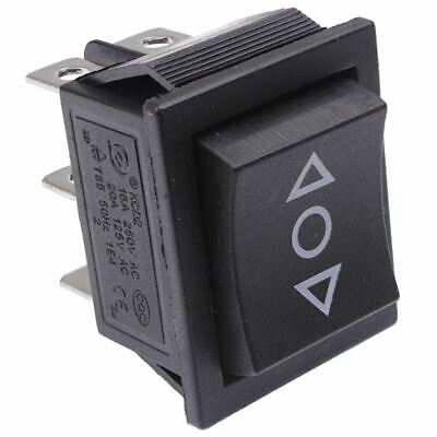 (On)-Off-(On) Momentary Rectangle Rocker Switch DPDT Crane Toy Winch