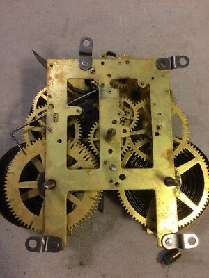 antique sessions mantle clock movement from Adamantine style case