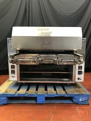 *MINT* 2015 Nieco GAS Broiler W/ Broilvection  3 Belt Char Broiler Automatic