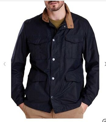 Barbour Land Rover Defender Novantae Jacket BNWT Medium Navy Rrp  £249.00