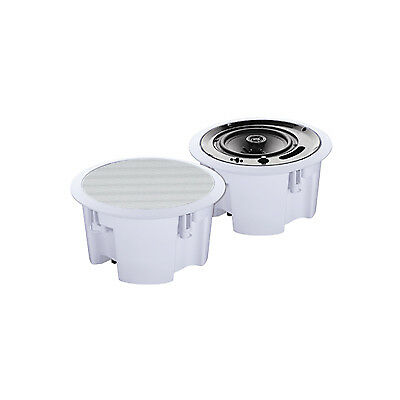 Eagle 100V Line / 8ohm Round 2 way Ceiling Speaker With Moisture Resistant Cone