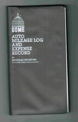 Dome® Auto Mileage Log & Expense Record 160 pages - Free Shipping