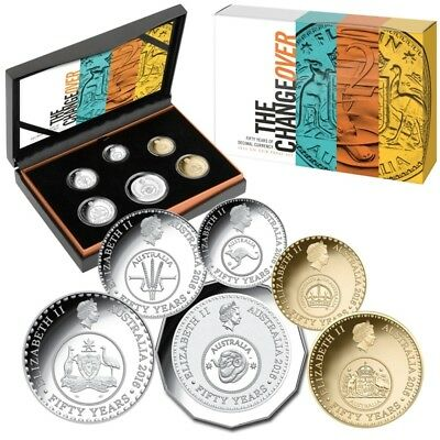 2016 Proof Set - *the Change Over* Royal Australia Mint- In Box With Certificate
