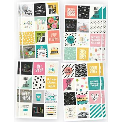 Simple Stories Planner Essentials Insta Quote Stickers, Planner, Diary, Craft