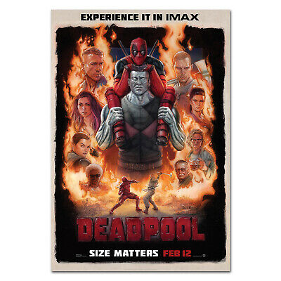 Deadpool Movie Poster - Official IMAX Art - High Quality Prints