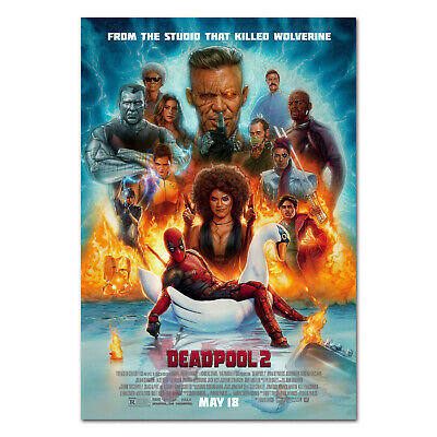 Deadpool 2 Poster - Official Movie Art - High Quality Prints