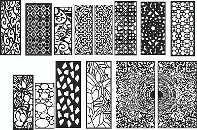 DXF of Laser Cut -CNC Vector DXF-CDR - AI  Art file