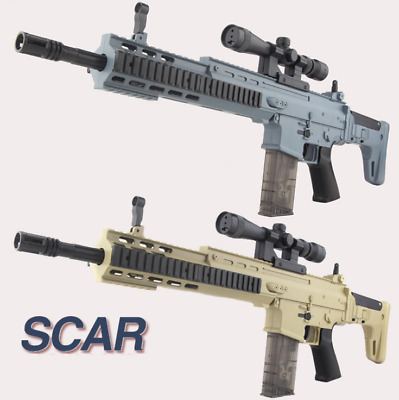 SCAR Electric Water Bomb Toy Gun Gel Bullet Water Gun Toy Outdoor CS Battle Toys