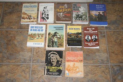 The Old West Jesse James Sam Bass Bozeman Army Buffalo Soldiers