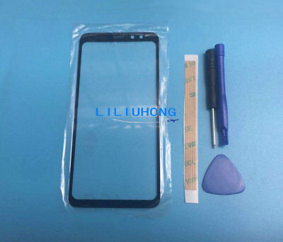 For Samsung Galaxy S8 Active G892 AT&T Front Glass Lens Outer lcd Screen Cover
